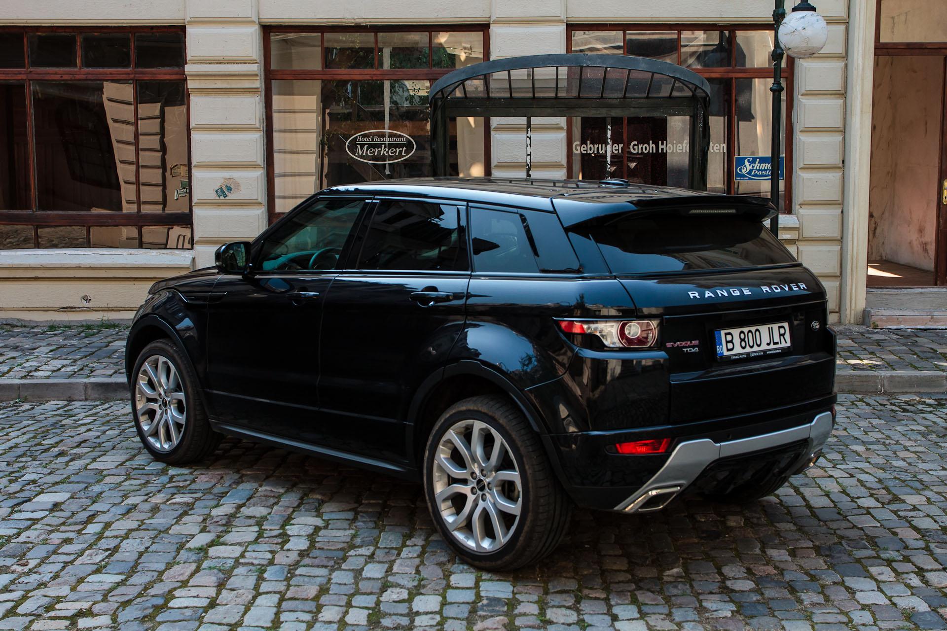drive test range rover evoque motorsport news. Black Bedroom Furniture Sets. Home Design Ideas