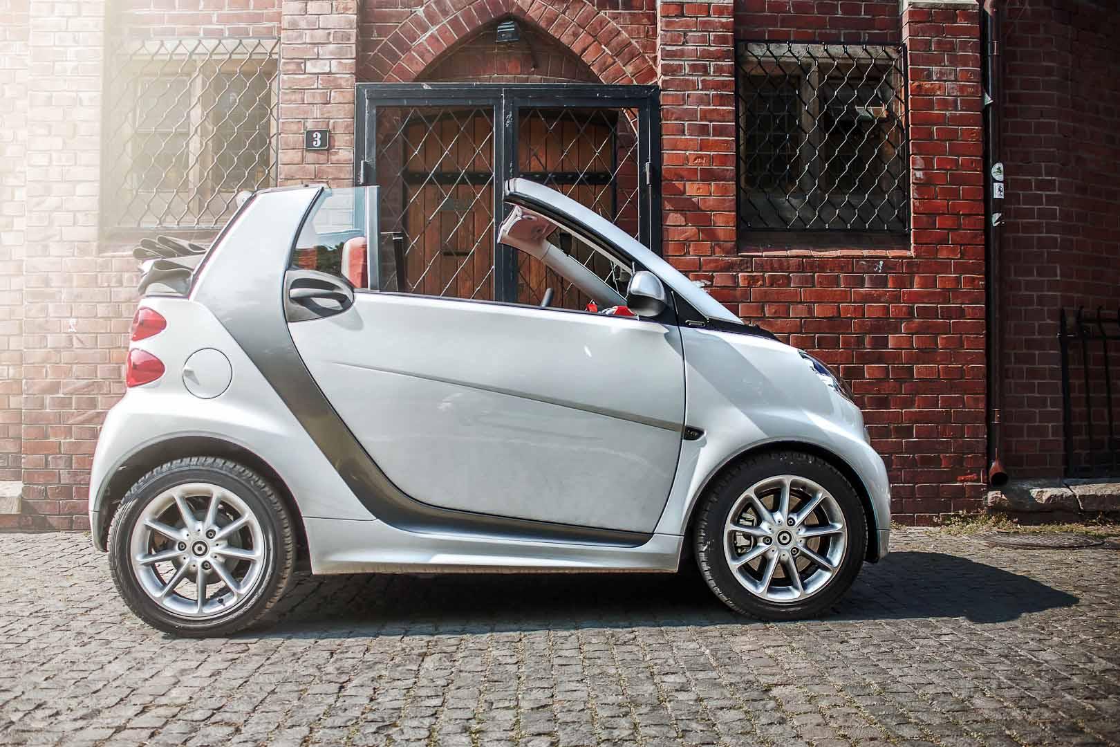 Test drive Smart Fortwo Cabrio