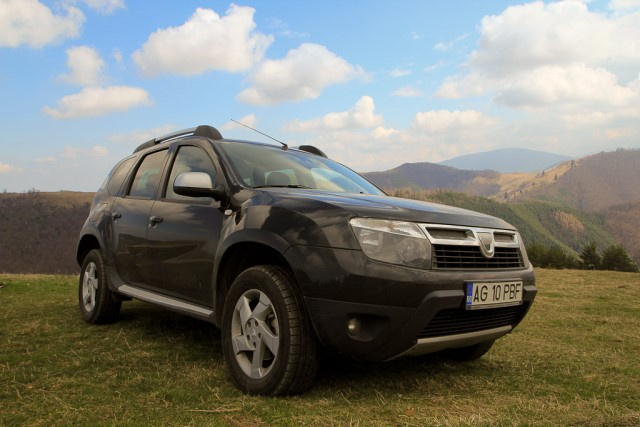 Test Drive Dacia Duster – 1.6 16v – 105 cp