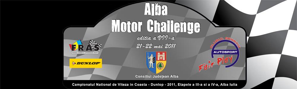 Alba Motor Challenge 2011 – documente oficiale (update)