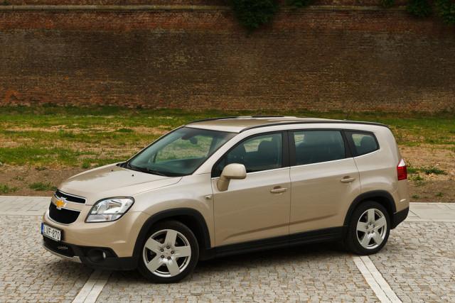 Test drive Chevrolet Orlando – Cutia fermecata
