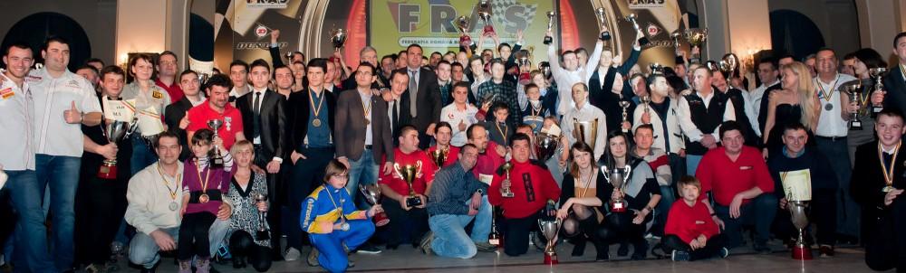 FRAS a premiat Campionii Nationali din 2011