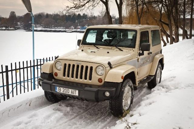 Drive test – Jeep Wrangler 2.8 CRD Sahara