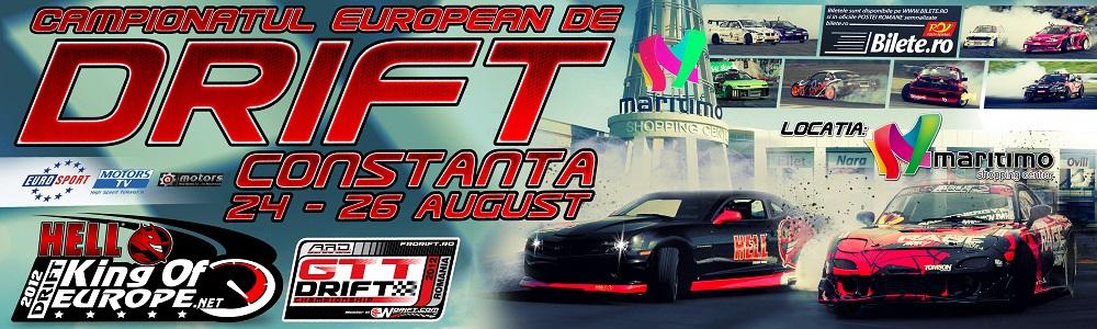 King of Europe Drift – Runda 6 Constanta