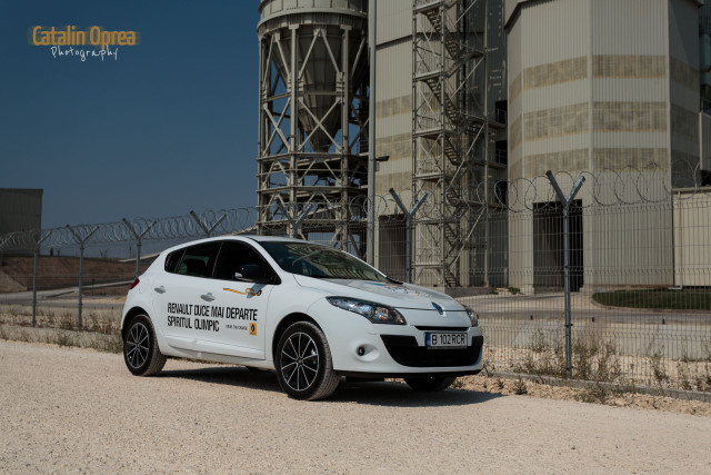 La Drift cu Renault Megane Olympic