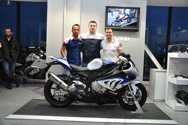 BMW HP4 prezentat alaturi de R 1200GS la Bucuresti