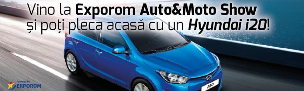 Castiga o masina la EXPOROM Auto&Moto Show