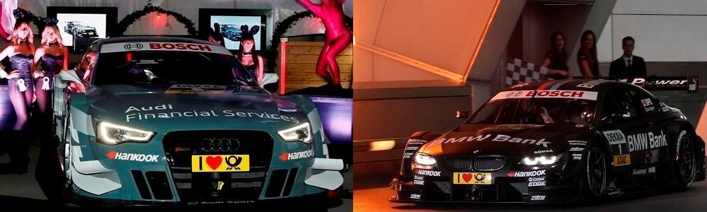 Audi si BMW si-au prezentat oficial pilotii si masinile pentru sezonul 2013 din DTM