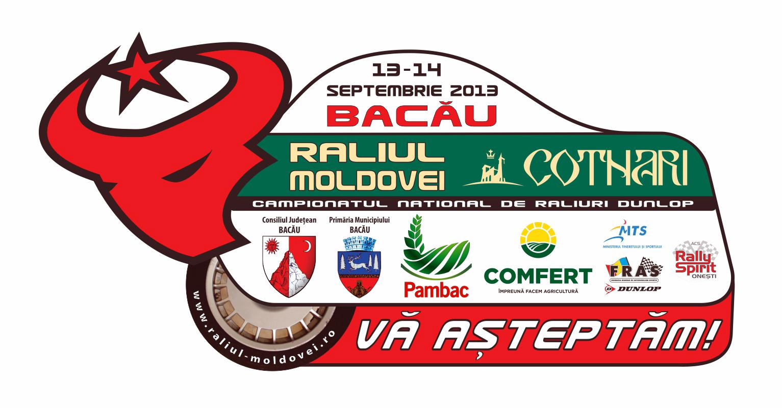 Cotnari este partenerul principal al Raliului Moldovei Bacau in 2013