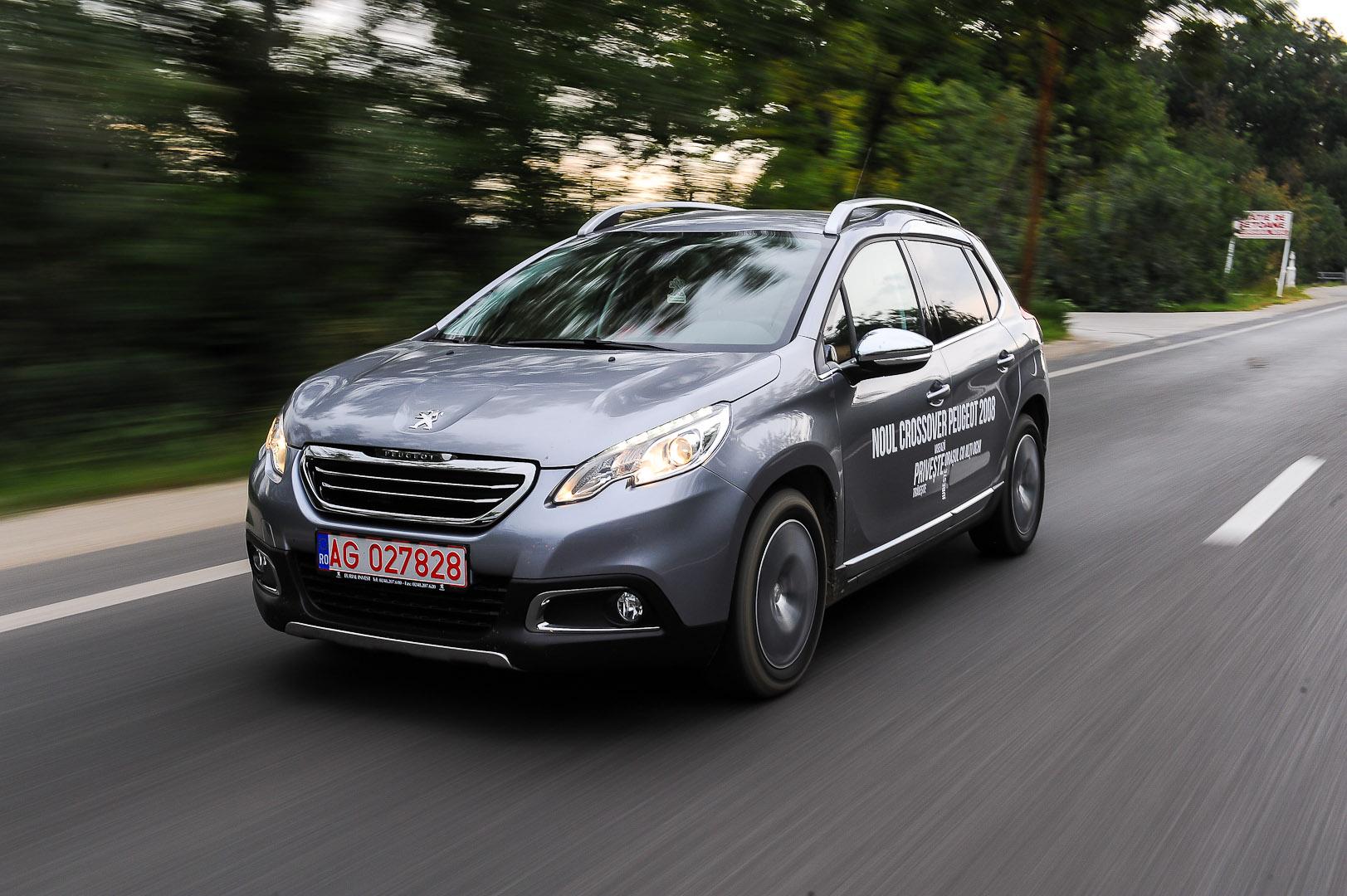Prima impresie: Peugeot 2008 – 1.6 e-Hdi 92 cp