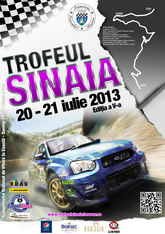 Trofeul Sinaia se va desfasura in perioada 20-21 iulie 2013 – documente oficiale