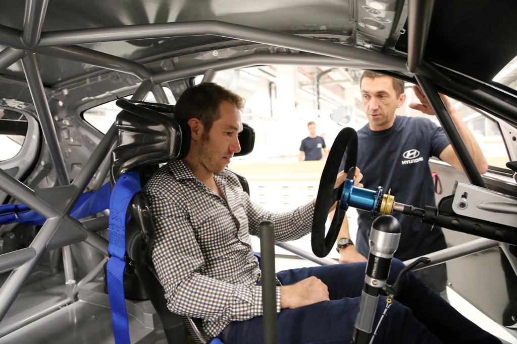 Chris Atkinson, al treilea pilot de teste pentru Hyundai