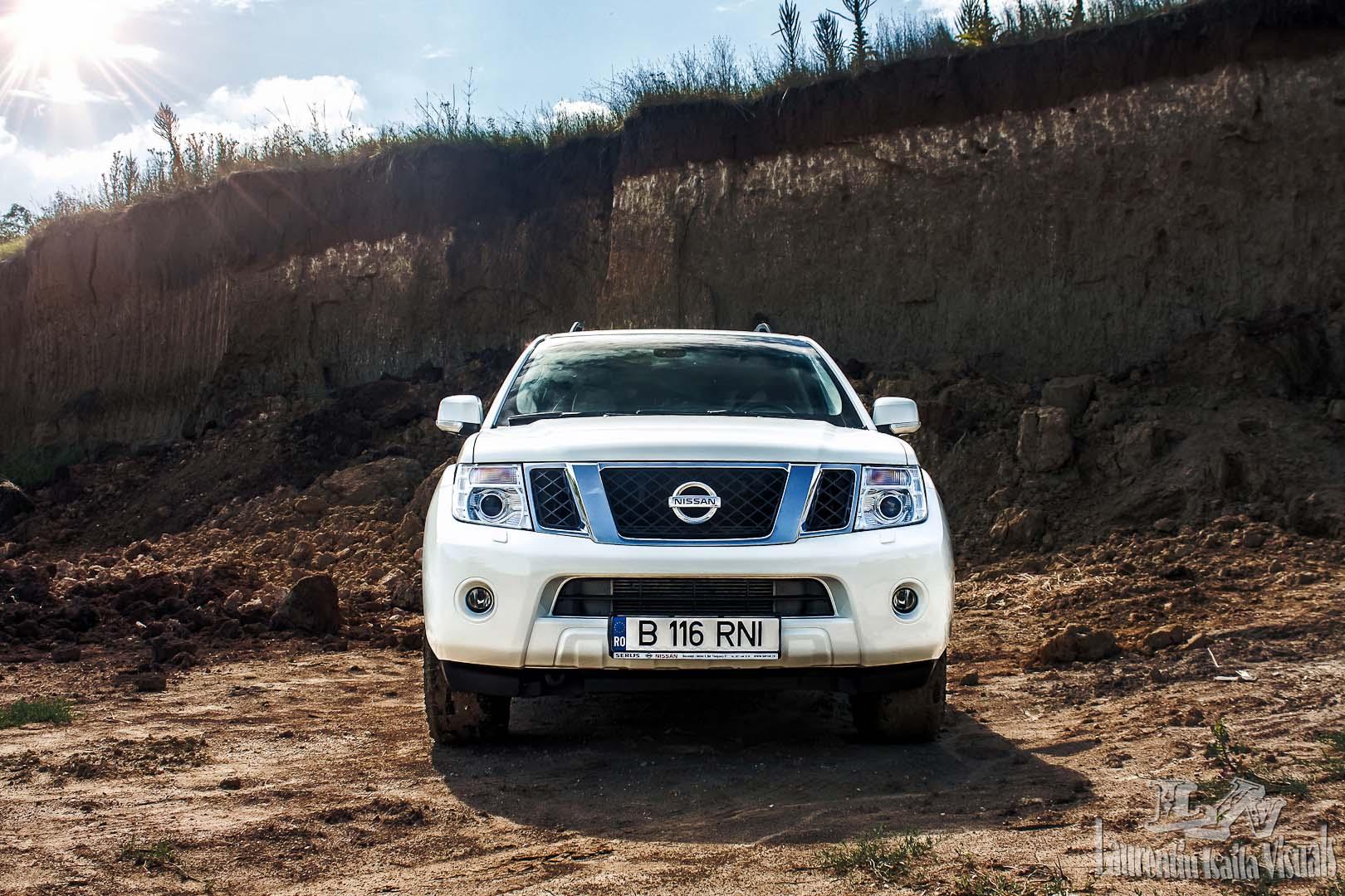 Drive test Nissan Pathfinder 3.0 dCi
