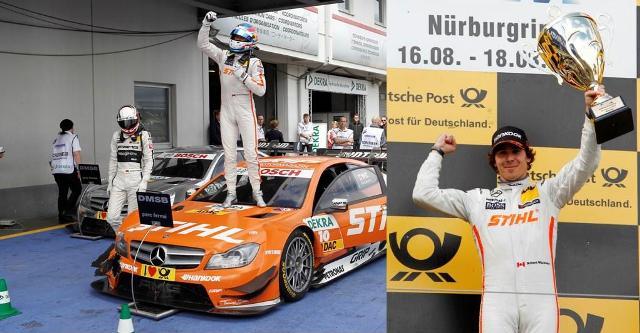 Robert Wickens reuseste prima victorie a carierei din DTM