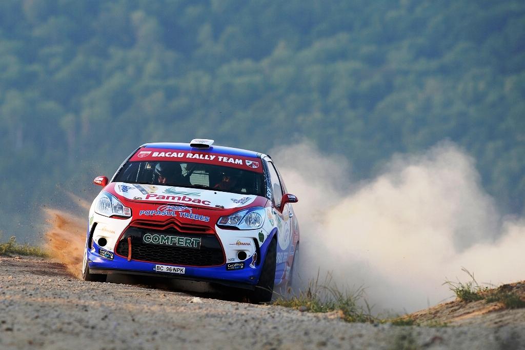 Bacau Rally Team evolueaza in fata propriilor suporteri