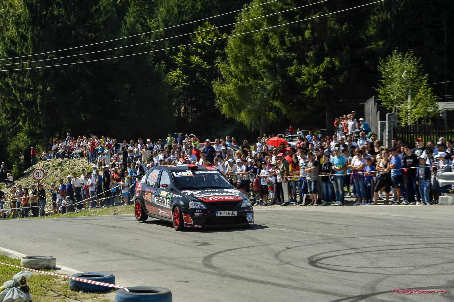 Bogdan Rusea urca Loganul pe podium si la Trofeul Campulung Muscel