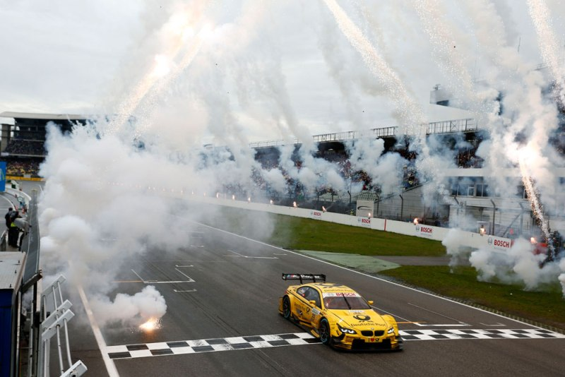 Timo Glock castiga la Hockenheim si BMW isi pastreaza titlul
