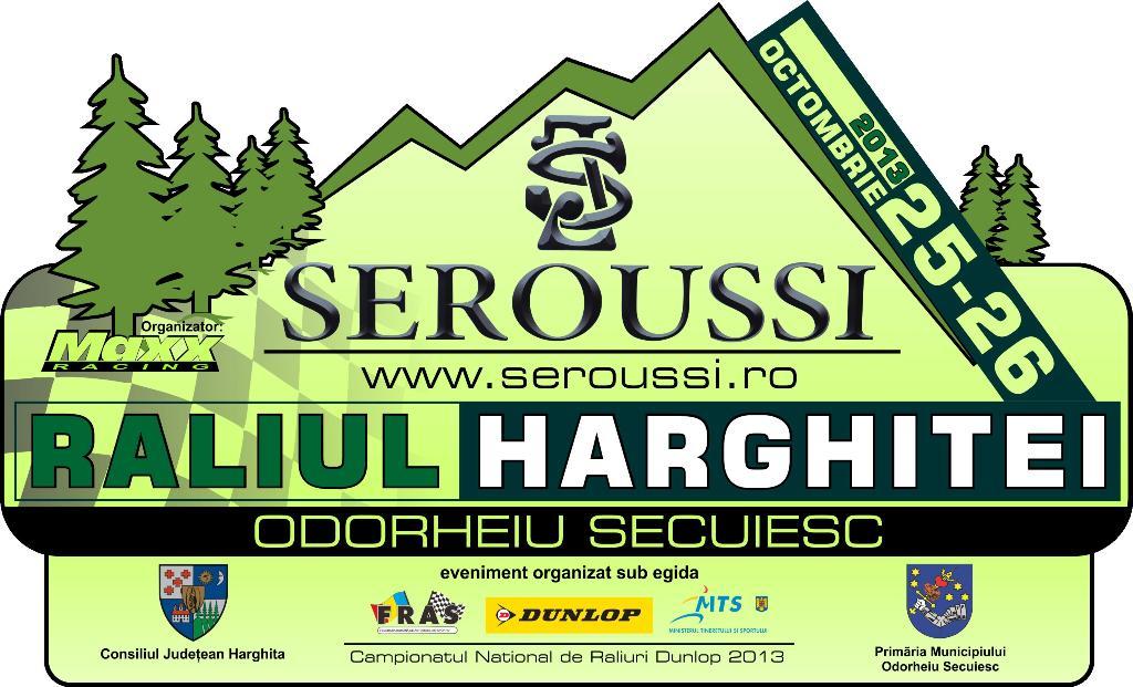 Raliul Harghitei 2013 – Lista de inscrieri