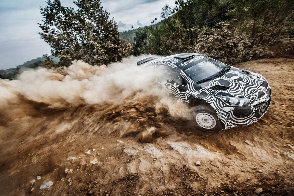 1000km intr-o luna pentru Hyundai i20 WRC