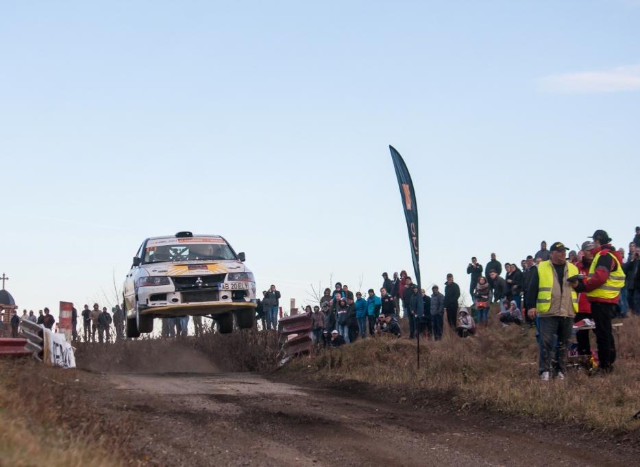 Spectacol total la Sibiu Rally Show