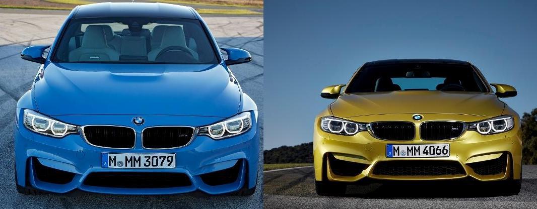 Noile BMW M3 Sedan şi BMW M4 Coupé