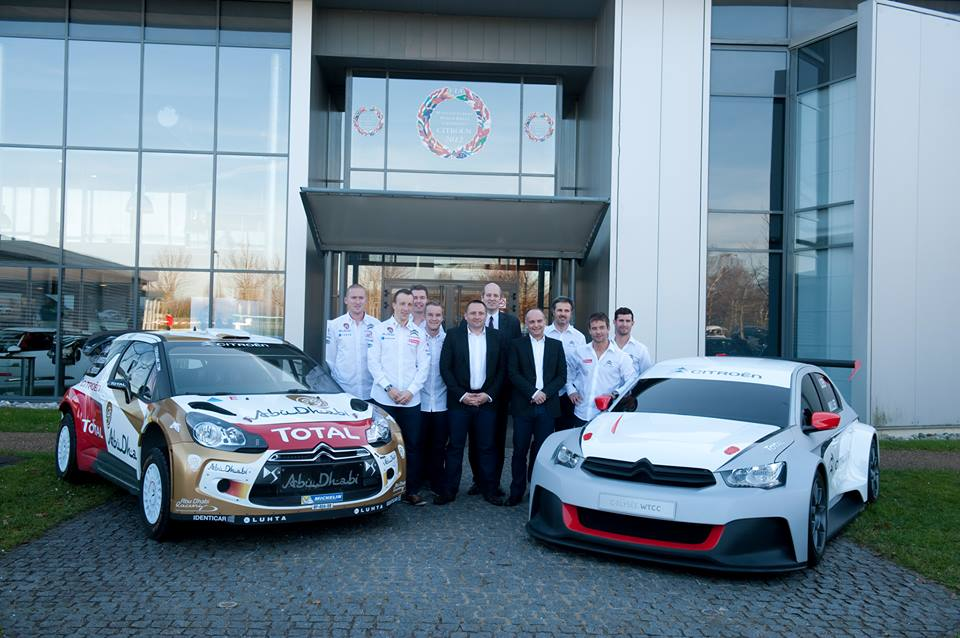 Citroën Racing si-a prezentat programul WRC si WTCC pentru 2014