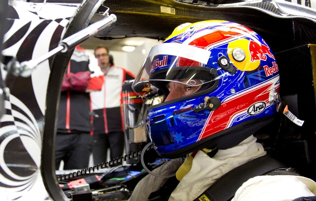 Primul test pentru Mark Webber cu Porsche LMP1
