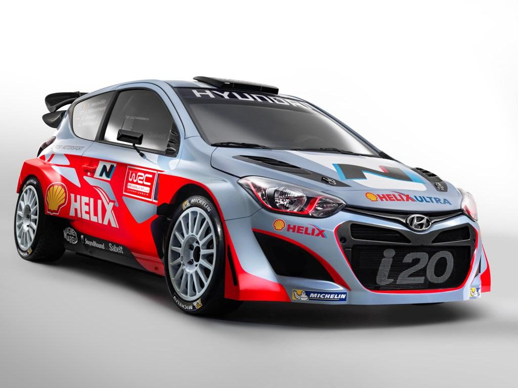 Hyundai Motorsport a prezentat oficial astazi modelul i20 WRC
