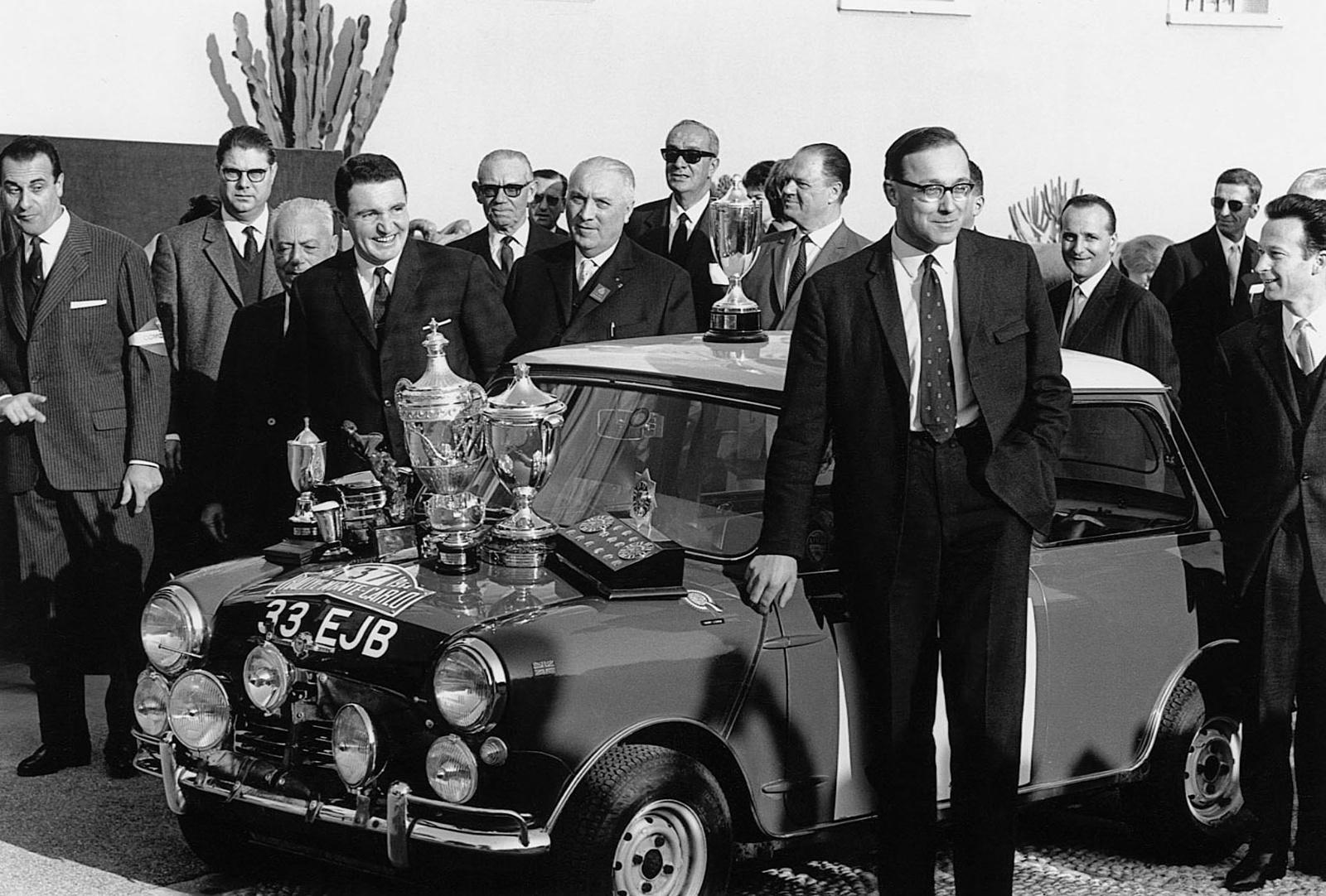 In urma cu 50 de ani MINI si Paddy Hopkirk castigau Raliul Monte-Carlo