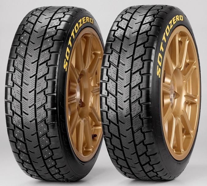 Noile pneuri Pirelli pentru WRC
