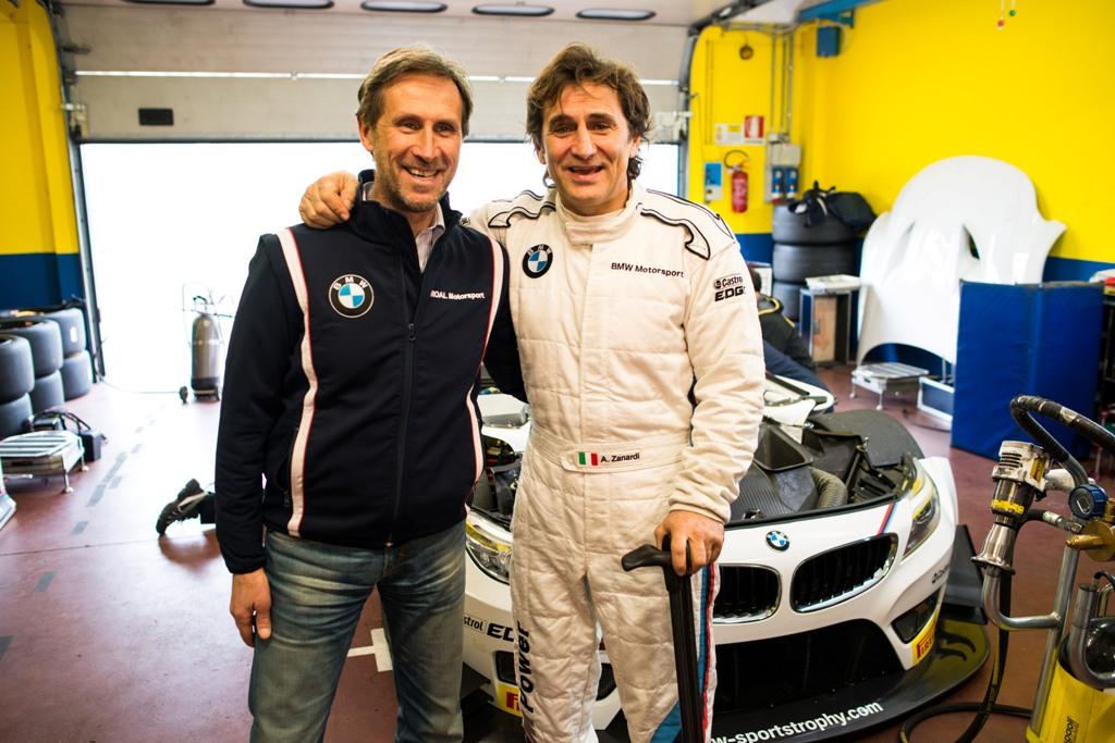 Alessandro Zanardi a incheiat cu succes testul de la Vallelunga