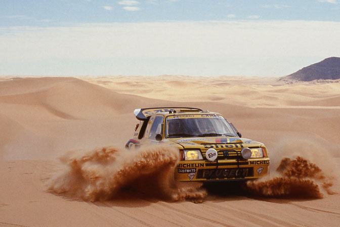 Peugeot revine in Dakar