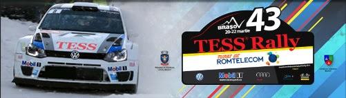 Program de inchidere a circulatiei publice cu ocazia desfasurarii Tess Rally Romtelecom 2014