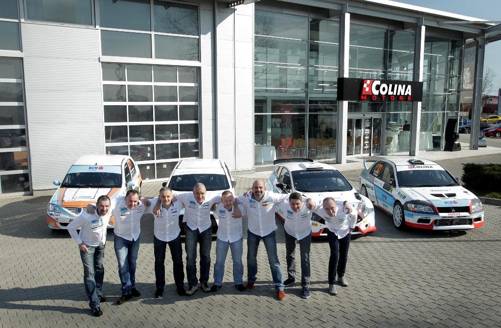"""BCR Leasing Rally Team este optimistă  înainte de """"Tess Rally Romtelecom"""""""