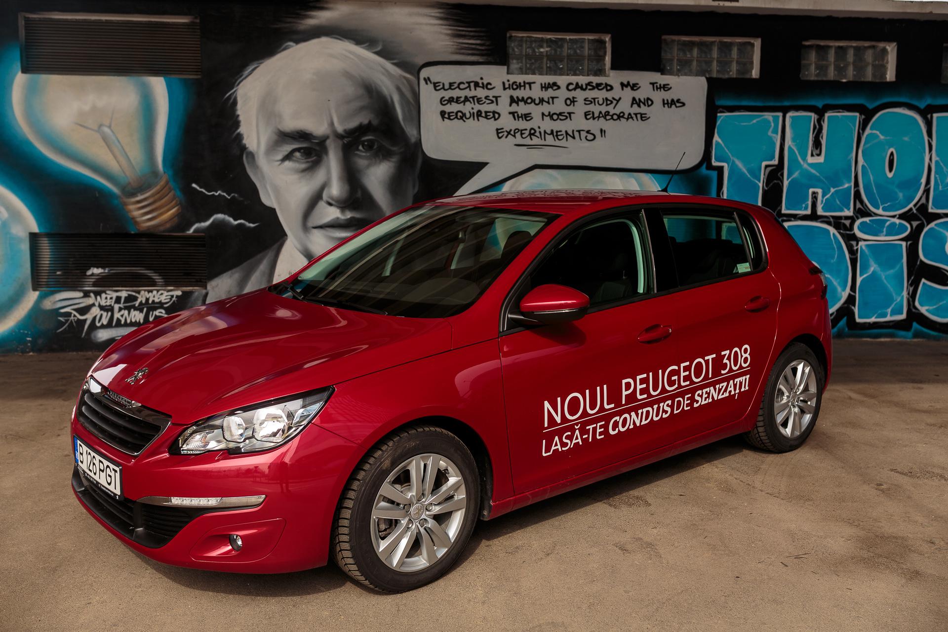 Drive test Peugeot 308 1.6 THP – MT6 – Active
