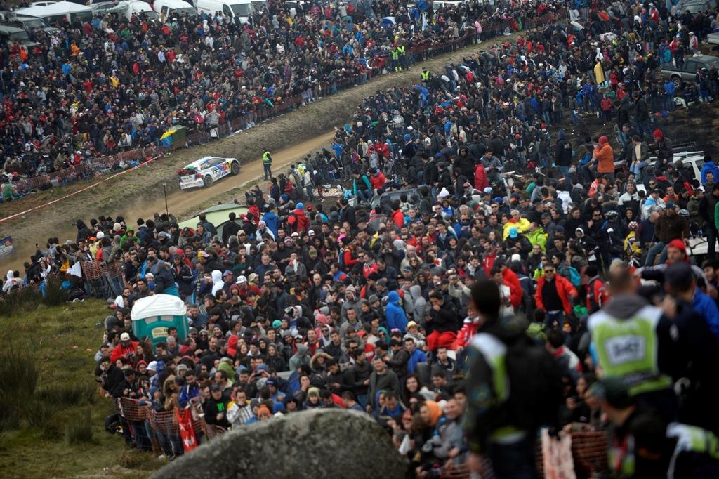 Ogier a castigat Fafe Rally Sprint la prima sa participare