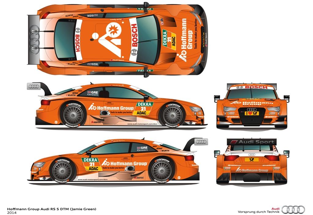 Un sponsor si o grafica noua pentru Jamie Green