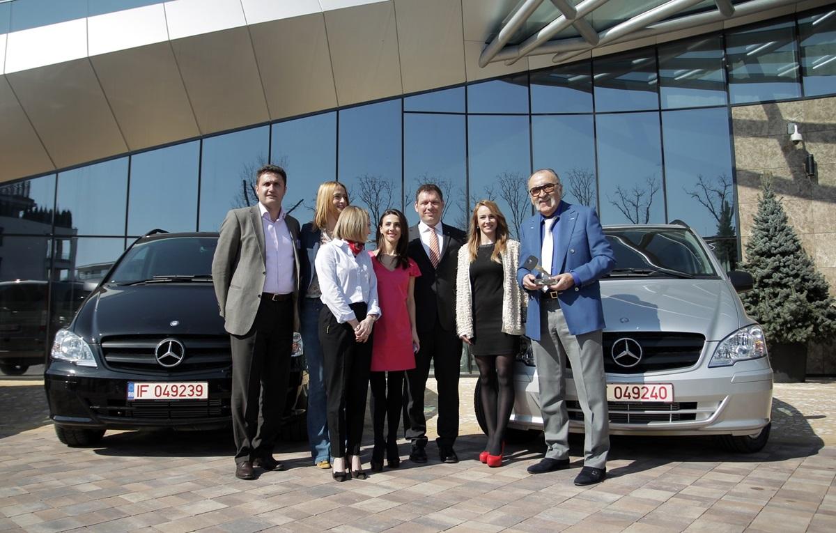 Mercedes-Benz Romania sustine sportul romanesc prin trei noi parteneriate!