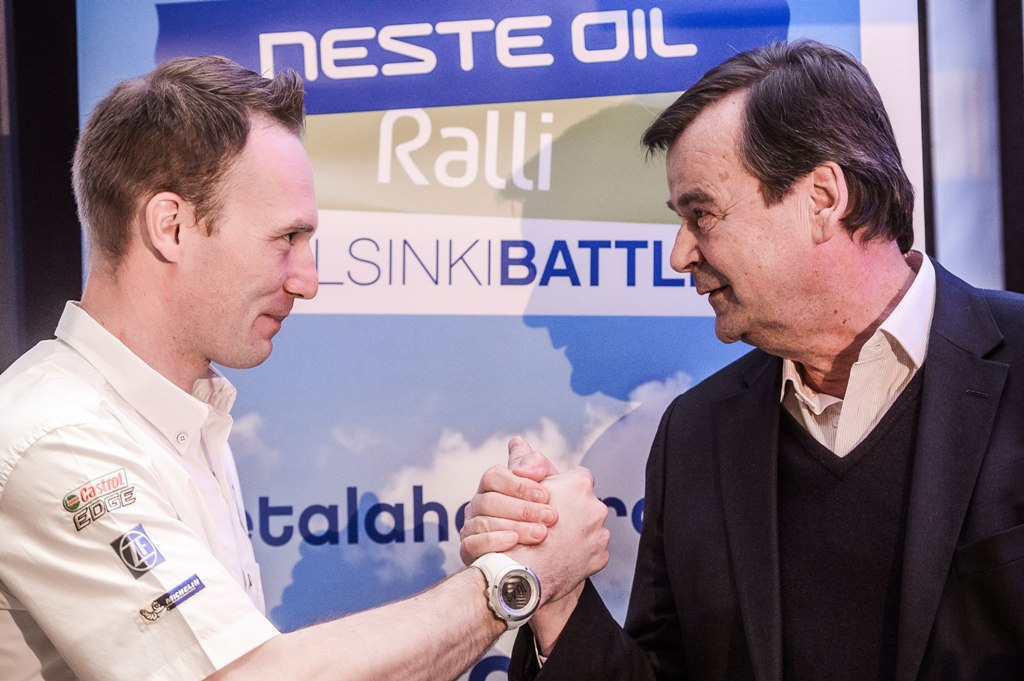 Rally Helsinki Battle va deschide saptamana Raliului Finlandei