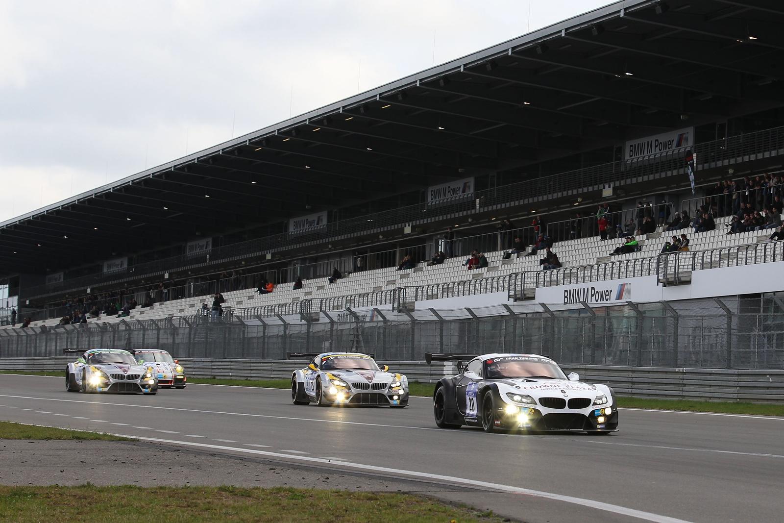 BMW Motorsport ocupă primele patru poziţii în cursa de calificare Nürburgring 24h