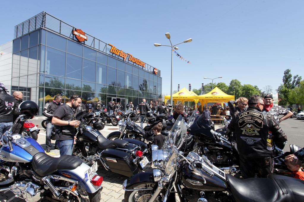 Harley-Davidson a lansat 3 modele noi la București
