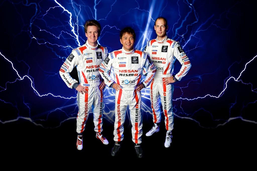 Echipa completa pentru Nissan Zeod RC la Le Mans 24H