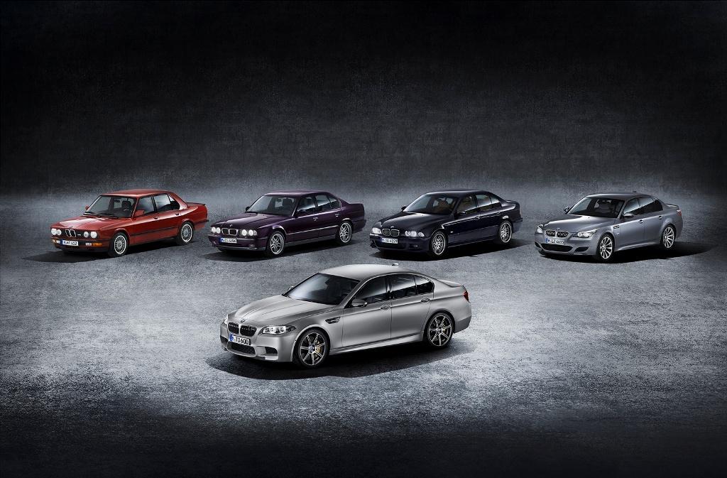 30 de ani de BMW M5 aniversat cu cel mai puternic model construit vreodată: 600 CP