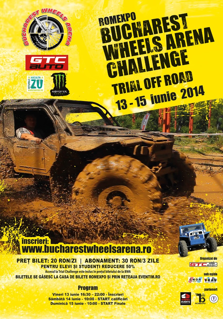 Bucharest Wheels Arena 2014 – Trial Off Road 4×4
