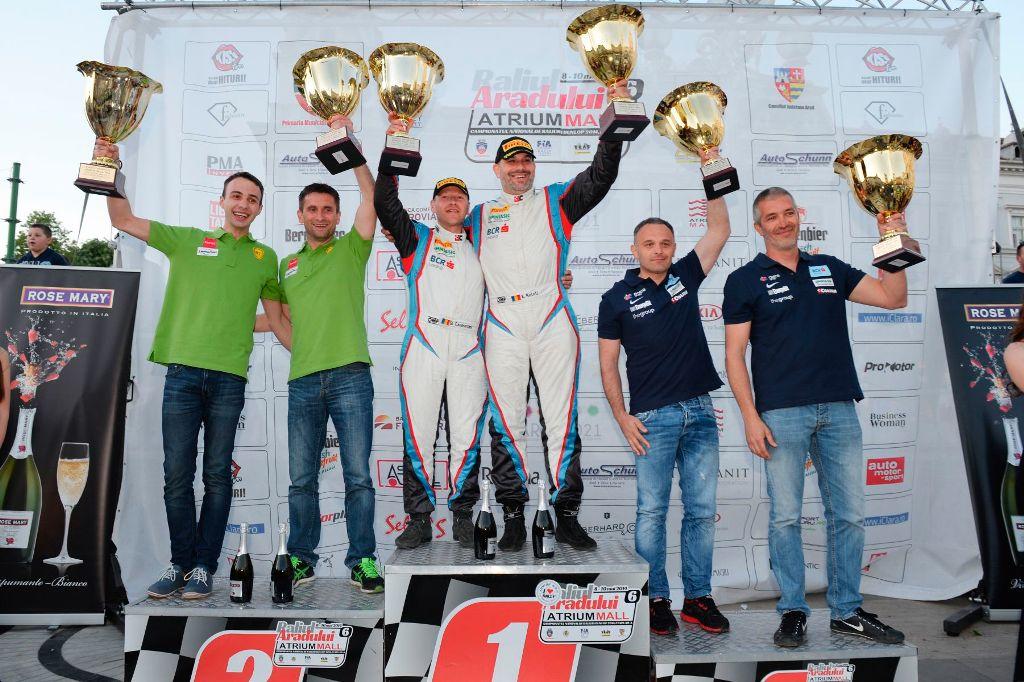 O etapă memorabilă pentru BCR Leasing Rally Team