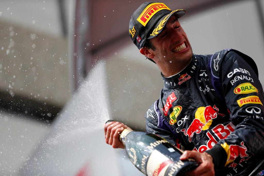 Daniel Ricciardo a reusit prima sa victorie in F1
