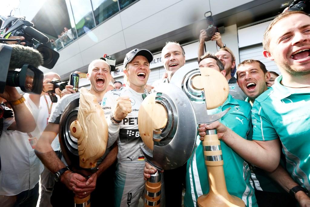 Nico Rosberg a castigat Marele Premiu al Austriei