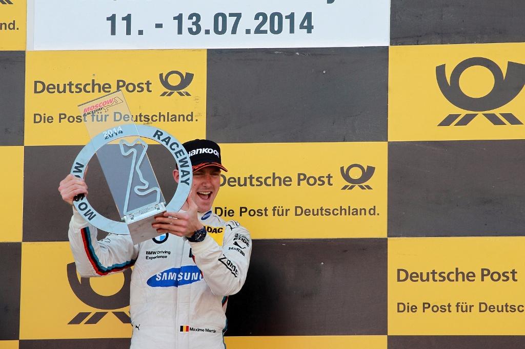 Maxime Martin obţine prima victorie în DTM