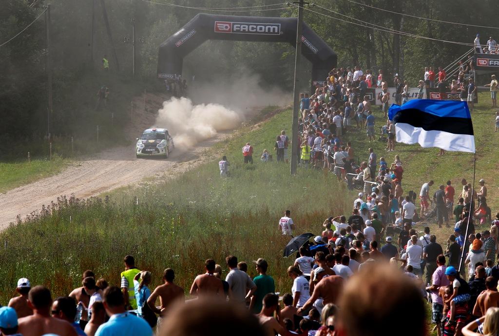 Simone Tempestini ia startul in Raliul Finlandei, a treia etapa Junior WRC