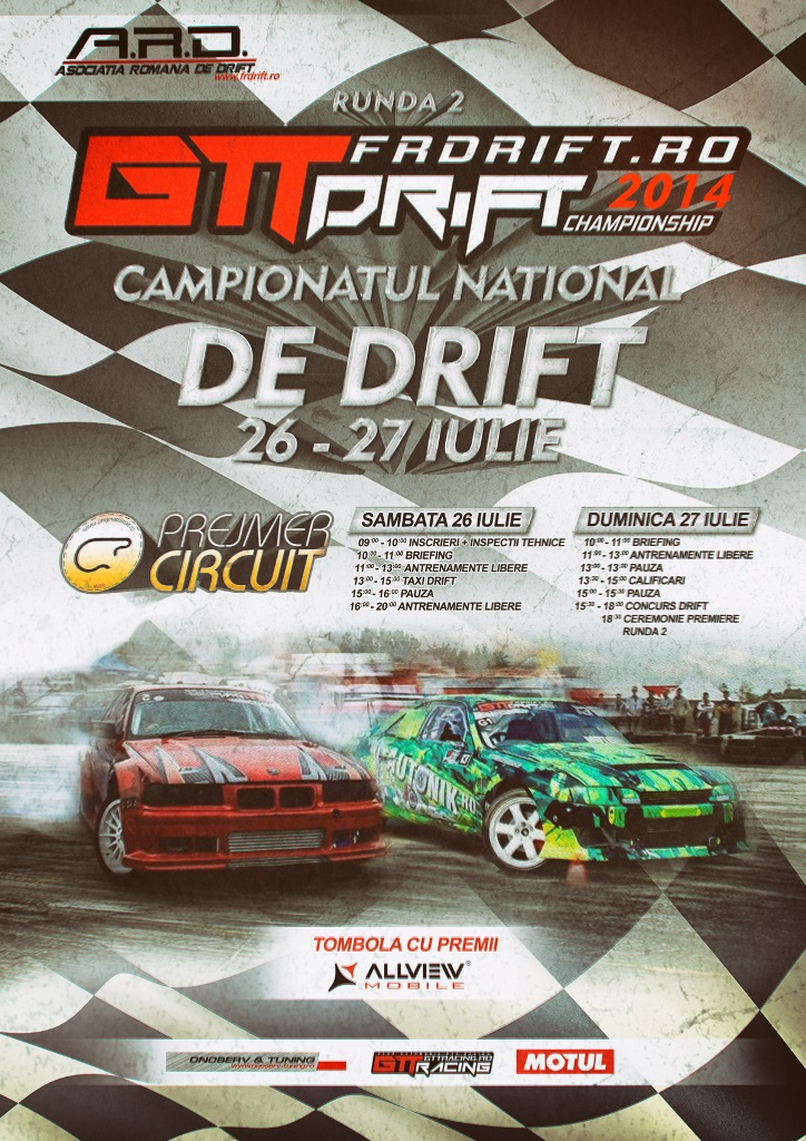 A doua runda a Campionatului National de Drift va avea loc la Prejmer